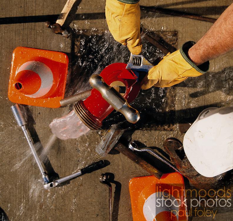 Adjustment of water valve