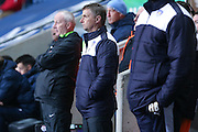 Colchester United Manager Kevin Keen  looks on during the Sky Bet League 1 match between Coventry City and Colchester United at the Ricoh Arena, Coventry, England on 29 March 2016. Photo by Simon Davies.
