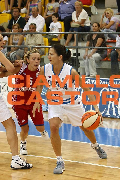 DESCRIZIONE : Ortona Giochi del Mediterraneo 2009 Mediterranean Games Italia  Italy Croazia Croatia Preliminary Women<br /> GIOCATORE : Mariachiara Franchini<br /> SQUADRA : Italia Italy<br /> EVENTO : Teramo Giochi del Mediterraneo 2009<br /> GARA : Italia Italy Croazia Croatia<br /> DATA : 29/06/2009<br /> CATEGORIA : palleggio<br /> SPORT : Pallacanestro<br /> AUTORE : Agenzia Ciamillo-Castoria/C.De Massis<br /> Galleria : Giochi del Mediterraneo 2009<br /> Fotonotizia : Ortona Giochi del Mediterraneo 2009 Mediterranean Games Italia Italy Croazia Croatia Preliminary Women<br /> Predefinita :