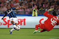 """Samuel ETO'O scores 1-0 for Inter<br /> Il gol di Samuel ETO'O<br /> Roma 29/5/2011 Stadio """"Olimpico""""<br /> Tim Cup Finale - Italy Cup Final<br /> Football Calcio Inter Vs Palermo<br /> Foto Andrea Staccioli Insidefoto"""