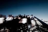Venezia Il Ponte della Costituzione progettato da Calatrava e porta d'accesso alla città.