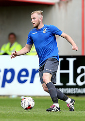 Danny Greenslade of Bristol Rovers runs with the ball during the preseason friendly against Exeter City - Mandatory by-line: Robbie Stephenson/JMP - 16/07/2016 - FOOTBALL - St James Park - Exeter, England - Exeter City v Bristol Rovers - Pre-season friendly