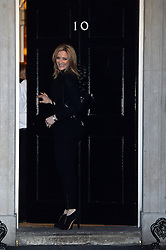 Gabby Logan arrives at 10 Downing Street, London, UK, for a reception to celebrate inspirational women.<br />  Thursday, 6th March 2014. Picture by Ben Stevens / i-Images