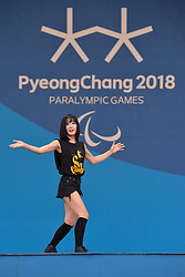 Behind the scenes, Les Coulisses at  the PyeongChang2018 Winter Paralympic Games, South Korea.