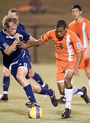 Virginia Cavaliers F/MF Ross LaBauex (8)..The #4 ranked Virginia Cavaliers men's soccer team faced the Mount Saint Mary's Mountaineers at Klockner Stadium in Charlottesville, VA on September 25, 2007.
