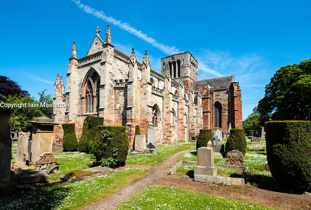 St Mary's Parish Church in Haddington, East Lothian, Scotland, UK