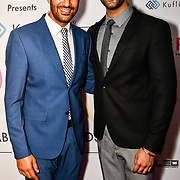 Harbhajan Mann and Avkash Mann is a singer attend the BritAsiaTV Presents Kuflink Punjabi Film Awards 2019 at Grosvenor House, Park Lane, London,United Kingdom. 30 March 2019