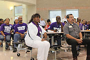 Over 700 Volunteers Participate in HISD's ?Grads Within Reach? Walk.