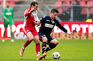 Onderwerp/Subject: FC Utrecht - Willem II - Eredivisie<br /> Reklame:  <br /> Club/Team/Country: <br /> Seizoen/Season: 2012/2013<br /> FOTO/PHOTO: Alexander GERNDT (L) of FC Utrecht in duel with Jordens PETERS (R) of Willem II. (Photo by PICS UNITED)<br /> <br /> Trefwoorden/Keywords: <br /> #04 $94 ±1354626289759<br /> Photo- & Copyrights © PICS UNITED <br /> P.O. Box 7164 - 5605 BE  EINDHOVEN (THE NETHERLANDS) <br /> Phone +31 (0)40 296 28 00 <br /> Fax +31 (0) 40 248 47 43 <br /> http://www.pics-united.com <br /> e-mail : sales@pics-united.com (If you would like to raise any issues regarding any aspects of products / service of PICS UNITED) or <br /> e-mail : sales@pics-united.com   <br /> <br /> ATTENTIE: <br /> Publicatie ook bij aanbieding door derden is slechts toegestaan na verkregen toestemming van Pics United. <br /> VOLLEDIGE NAAMSVERMELDING IS VERPLICHT! (© PICS UNITED/Naam Fotograaf, zie veld 4 van de bestandsinfo 'credits') <br /> ATTENTION:  <br /> © Pics United. Reproduction/publication of this photo by any parties is only permitted after authorisation is sought and obtained from  PICS UNITED- THE NETHERLANDS