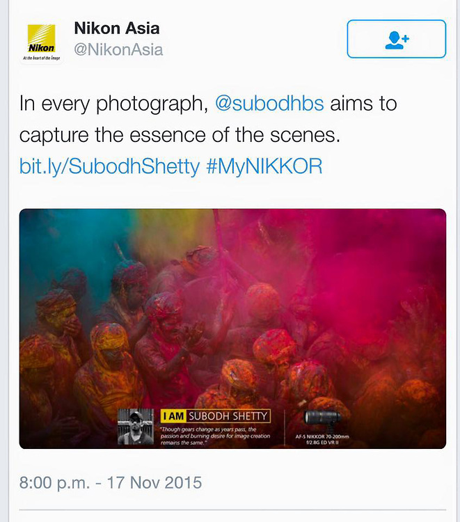 Nikon Asia on Twitter...<br />