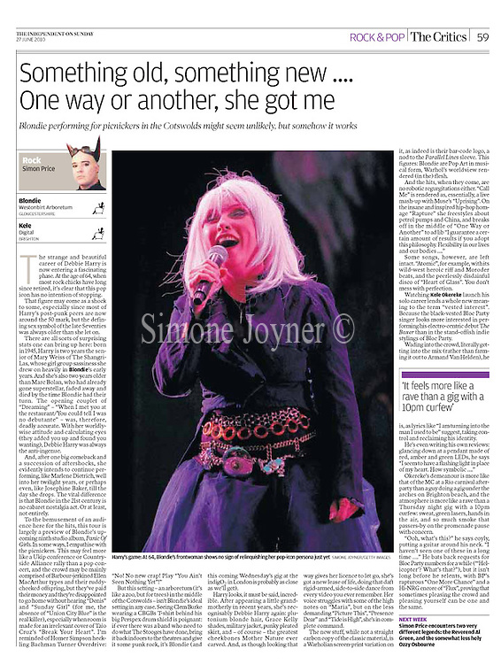 The Independent - June 27, 2010.<br />