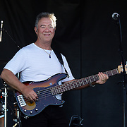 Bassist Stu Cook performing with Creedence Clearwater Revisited performing at the Queenstown Events Centre, Queenstown,  Otago, New Zealand. 5th February 2012. Photo Tim Clayton
