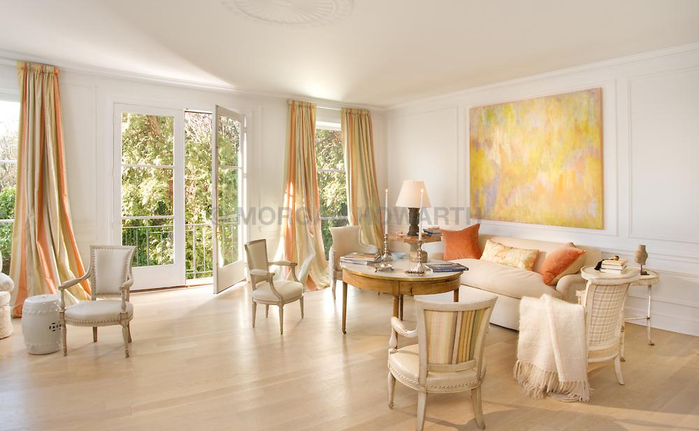 1610 28th Steet Washington DC Frank Babb Randolph designer Home Living Room