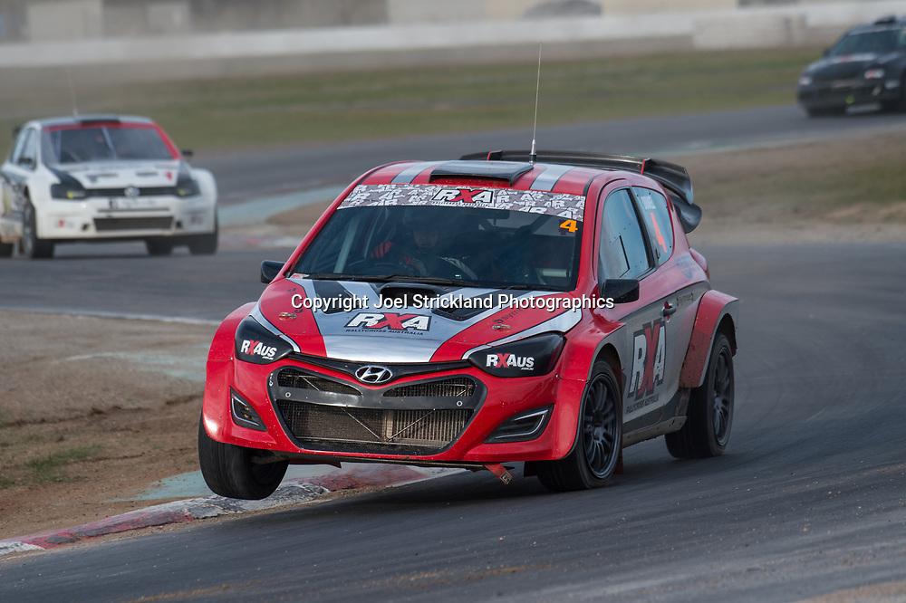 Justin Dowel, Hyundai i20,  - Rallycross Australia - Winton Raceway - 16th July 2017