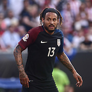 United States Midfielder JERMAINE JONES (13) settles into position in the first half of a Copa America Centenario Group A match between the United States and Paraguay Saturday, June. 11, 2016 at Lincoln Financial Field in Philadelphia, PA.