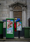 Bodies in Urban Spaces, Willi Dorner Company, Dublin Dance Festival. ©Tamara Him.