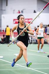 womens pole vault, Brown, Feng<br /> BU John Terrier Classic <br /> Indoor Track & Field Meet
