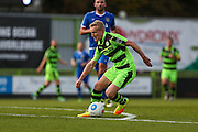 Forest Green Rovers Marcus Kelly(10) runs forward during the Vanarama National League match between Forest Green Rovers and Guiseley  at the New Lawn, Forest Green, United Kingdom on 22 October 2016. Photo by Shane Healey.