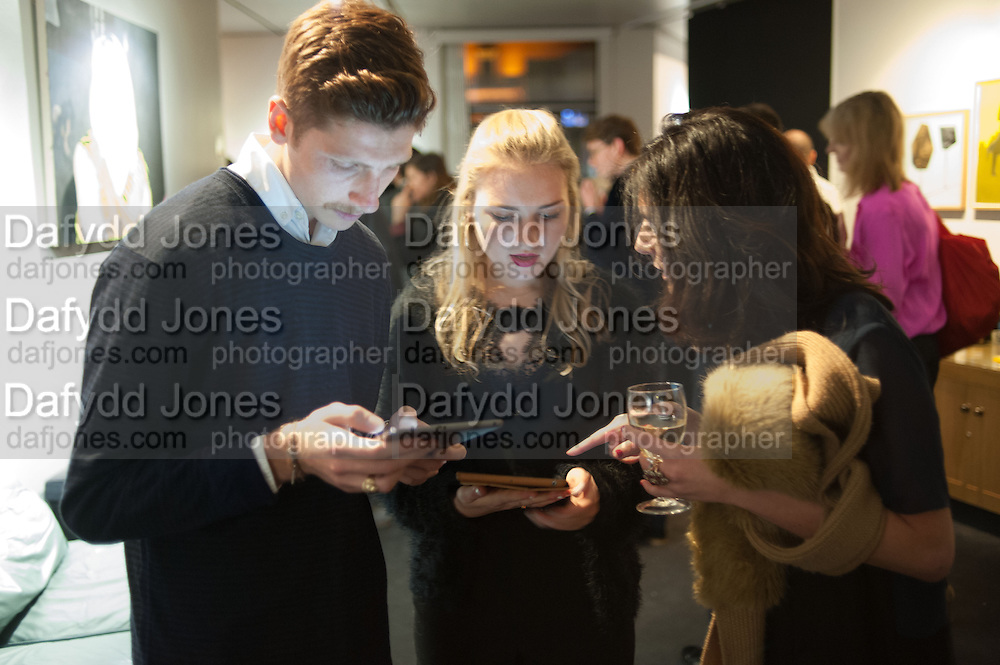 The Culture Whisper Launch party. Royal College of art. Royal College of Art, Kensington Gore. London. 28 January 2014