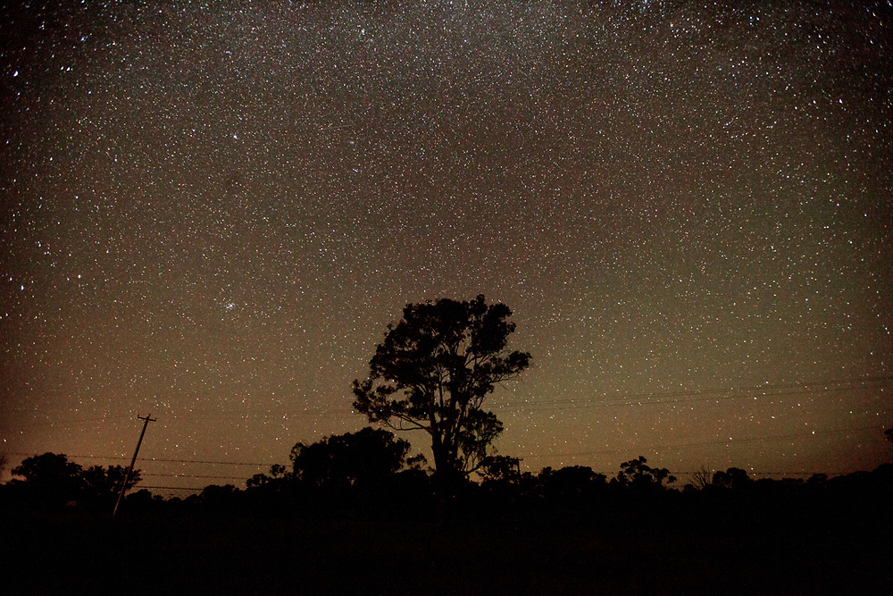 Night sky in the outback. Australia.<br />
