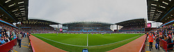 BIRMINGHAM, ENGLAND - Sunday, March 15, 2009: A general view of Aston Villa's Villa Park Stadium during the Premiership match against Tottenham Hotspur. (Pic by David Rawcliffe/Propaganda)
