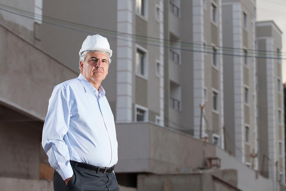 Belo Horizonte_MG, 28 de junho de 2011.<br /> <br /> <br /> Na foto, Rubens Menim, presidente da construtora MRV.<br /> <br /> Foto: LEO DRUMOND / NITRO