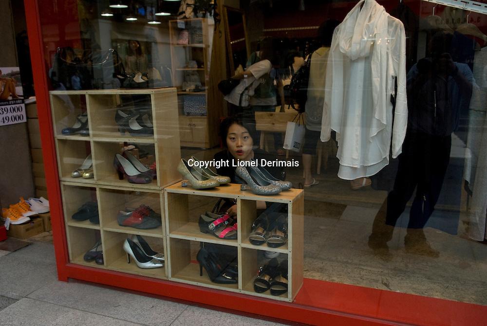 Shoes in Seoul, Korea.