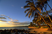 Sunset, Makaweli, Kauai, Hawaii, USA<br />