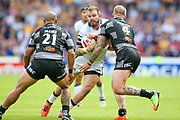 Leeds Rhinos prop Adam Cuthbertson (10) in action  during the Challenge Cup 2017 semi final match between Hull RFC and Leeds Rhinos at the Keepmoat Stadium, Doncaster, England on 29 July 2017. Photo by Simon Davies.