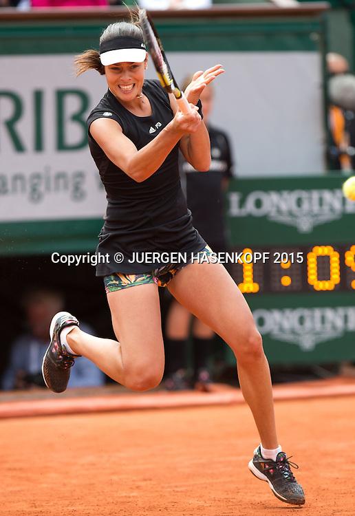 Ana Ivanovic (SRB)<br /> <br /> Tennis - French Open 2015 - Grand Slam ITF / ATP / WTA -  Roland Garros - Paris -  - France  - 2 June 2015.