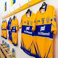 Dressing Room at Cusack Park ready for the arrival of the Clare Senior Hurling Team