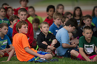 Miles French Track and Field Meet for 5th graders of Elm Street, Pleasant Street and Woodland Heights Elementary Schools.  Karen Bobotas / for the Laconia Daily Sun