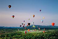Adirondack Balloon Festival, Glen Falls, New York from Hudson Book