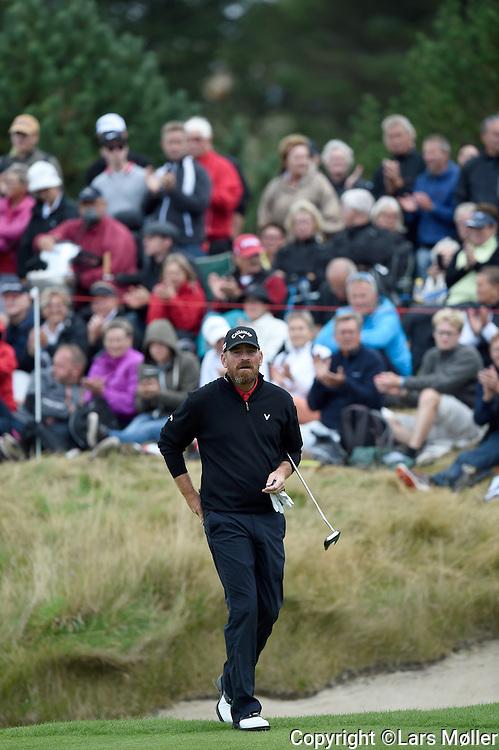 DK Caption:<br /> 20140815, Aars, Danmark:<br /> Made in Denmark Golf. 2. runde: Tilskuere der f&oslash;lger Thomas Bj&oslash;rn (DEN)<br /> Foto: Lars M&oslash;ller<br /> UK Caption:<br /> 20140815, Aars, Denmark:<br /> Made in Denmark Golf.  2nd round: Tilskuere who follows Thomas Bj&oslash;rn (DEN)<br /> Photo: Lars Moeller