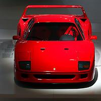 Ferrari F40 at Museo Casa Enzo Ferrari, 2014
