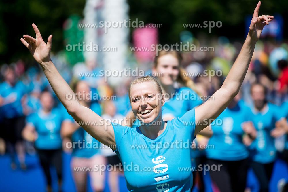 Monika Golob during 5km and 10km running race 9. DM Tek za zenske on May 31, 2014 in Tivoli, Ljubljana, Slovenia. Photo by Vid Ponikvar / Sportida