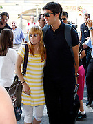 Real Madrid's Kaka in Barajas' Airport in the begin of USA tour.August 6 2009.