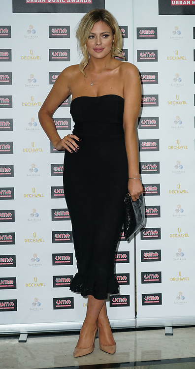 London, England, UK. 30th November 2017. Danielle Sellers attends the Urban Music Awards at Porchester Hall, London, UK.
