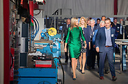 Queen Maxima the day of the entrepreneur at Octatube in Delft, 17-11-2017-