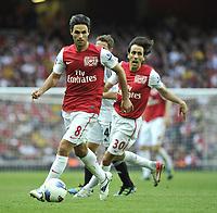 Premier League  Arsenal v Swansea<br />New boys Mikel Arteta and Yossi Benayoun