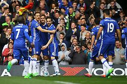 Goal, Cesc Fabregas of Chelsea scores, Chelsea 1-0 Crystal Palace - Mandatory by-line: Jason Brown/JMP - 01/04/2017 - FOOTBALL - Stamford Bridge - London, England - Chelsea v Crystal Palace - Premier League