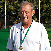 Phillip Higgs, Australia, 65 Mens Singles Winner during the 2009 ITF Super-Seniors World Team and Individual Championships at Perth, Western Australia, between 2-15th November, 2009.