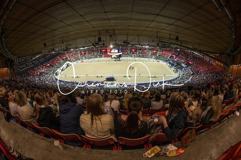 Overview dressage arena<br /> Reem Acra FEI World Cup Goteborg 2013<br /> © Dirk Caremans