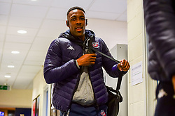 Raphell Thomas-Edwards of Bristol Flyers arrives at SGS Wise Arena prior to kick off - Photo mandatory by-line: Ryan Hiscott/JMP - 15/11/2019 - BASKETBALL - SGS Wise Arena - Bristol, England - Bristol Flyers v London City Royals - British Basketball League Cup