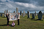 Pytheas Circumnavigates Scotland Panel @Callanish Stone Circle