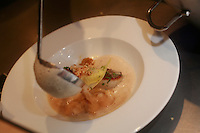 daniel rose- restaurant spring paris.coquilles st jacques - scallops