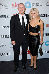 Judge Rinder and Oksana Platero attend the Attitude Pride Awards 2016 at The Grand At Trafalgar Square, central London. Monday October 10, 2016. Photo credit should read: Isabel Infantes / EMPICS Entertainment.