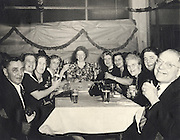 Elderly people gathered for a party, 1940?Äôs