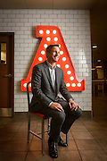 May 28, 2015, Atlanta, GA. Arby's CEO Paul Brown at one of their restaurants in Atlanta, GA . Photo by Michael A. Schwarz