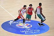 Filloy Ariel, Vitali Michele<br /> Nazionale Senior maschile<br /> Allenamento<br /> World Qualifying Round 2019<br /> Bologna 12/09/2018<br /> Foto  Ciamillo-Castoria / Giuliociamillo